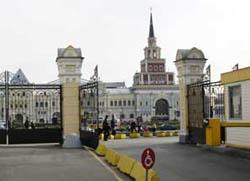 Вокзалы москвы железнодорожные